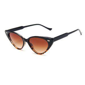Women Cat Eye Vintage Retro Style Sunglasses UV